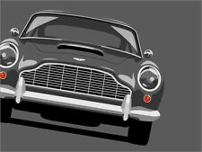 Aston Martin DB5 Pop Art Print Poster - s9