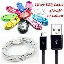 3/6/10FT Micro USB Data Sync Charger Cable For Samsung Galaxy Cell Phones Lot