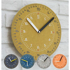 Retro Wall Clock Vintage Wooden Home Room Decor Modern Simple Antique Clock