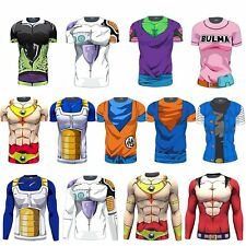 NEW Dragon Ball Goku 3D Costume Cycling Tee T-Shirt Short Sleeve Bicycle Jersey