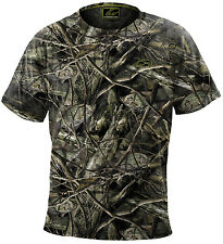 Fishouflage Performance 100% Polyester Crappie Fishing Camo S/S T Shirt - NEW!