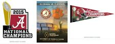 COLLEGE NATIONAL CHAMPIONSHIP ALABAMA CRIMSON TIDE PROGRAM PIN9.49 PENNANT14.99