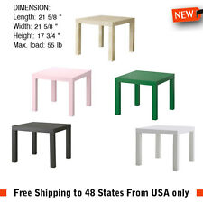 Side Corner Table Coffee Bedside Laptop Nightstand Night Stand IKEA lack Sides