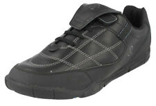 Clarks REFEREE Black Leather Trainer Style School Shoes 3 Jun - 8 Adult  F/G Fit