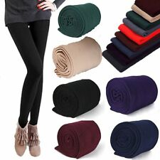 Warm Winter Leggings Thick Fleece Stretch Skinny Pants Trousers Footless OG
