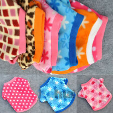 Stylish Pet Dogs Clothes Puppy Fleece Hoodie Star Dot Leopard T-shirts Fur Coat