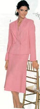 NWT  Bloomingdales   Pink  Side Zip  Flounce Skirt  sz  8  14