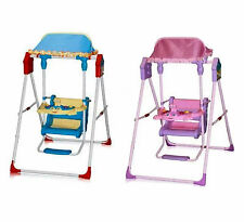 Brand New Amazing BABY Swing FEEDING CHAIR Space Saver (Pink/Blue/Yellow)