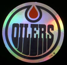 Edmonton Oilers Decal Sticker NHL Hockey  Officially Licensed