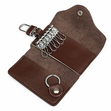 Genuine Leather Car Key Holder Key Chain Key Case Car Remote Key Case Key Bag