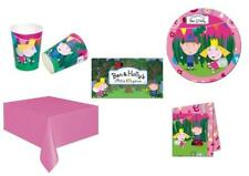 BEN & HOLLY Complete Party Kit for 8 & 16-Cups,Plates,Napkins,Tablecover