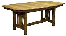 """Amish Handcrafted Mission Hearthside Rectangle Dining Table Solid Wood 42"""" x 72"""""""