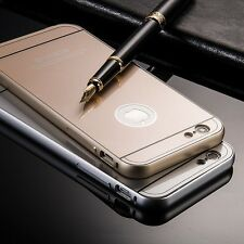Ultra Thin Luxury Aluminum Metal Bumper Hard Back Cover For iPhone 5/5s/6/6s New