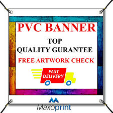 NEW BEST QUALITY PVC BANNER FULL COLOR TOP QUALITY FREE P&P