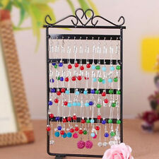 48 Holes Metal Earrings Display Show Jewelry Rack Stand Organizer Holder Lot AE