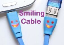 Smiling USB Data Sync Charge Cable Smile Charging Cord for iPod Touch 5th Nano 7