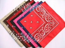 Paisley Bandana Bandanna Headwear/Hair Band Scarf Neck Wrist Wrap
