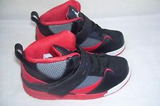 New! Toddler Nike  Jordan Flight 45 Athletic Shoes 599903-021 RedBlack   38F