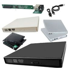 NEW IDE LAPTOP CD/DVD ROM USB 2.0 EXTERNAL DRIVE ENCLOSURE CASE COVER CADDY