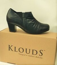 Klouds shoes - Orthotic friendly comfort leather heels Orient