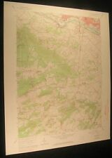 Pottstown Pennsylvania Harmonyville 1969 vintage USGS original Topo chart map