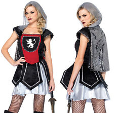 LEG AVENUE Royal Knightess Medieval Sexy Fairytale Fancy Dress Costume 85201