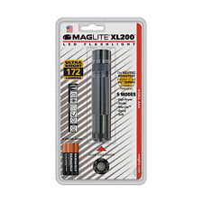 Maglite XL200 Compact LED 3 x AAA Flashlight - Gray - S3096
