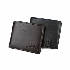 Fancy Men's Business Genuine Leather Bifold Wallet Purse for Money Bank ID Card