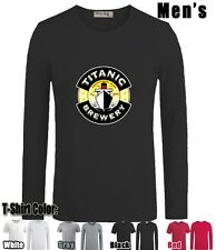 The famous Titanic symbol Graphic Sleeves Men's Boy's Cotton T Shirt Tops