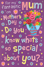 funny / humorous MUM mother's day card - 4 x mothers day cards to choose from!