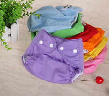 1 Pack Healthy Newborn Baby Cloth Diaper Adjustable Reusable Washable Nappy