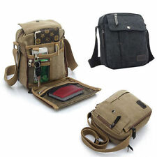 Men's Vintage Canvas Shoulder Messenger Travel Hiking Bag Satchel multi-purpose