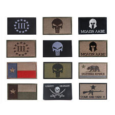 PUNISHER SKULL SWAT OPS USA ARMY MILITARY TACTICAL nylon MORALE BADGE PATCH