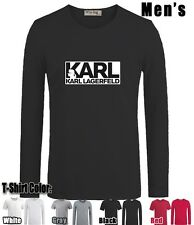 BNWT KARL LAGERFELD KARL Graphic Sleeves Men's Boy's Cotton T Shirt
