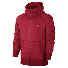 Nike University Red/Hyper Orange/Heather AW77 Shoebox Full-Zip Hoodie