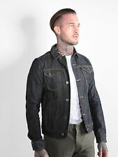 883 Police Mens Trucker 358 Denim Jacket Vintage Casual Button Cotton 4 Pockets