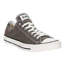 New Converse All Star Chuck Taylor Ox 1J794 Charcoal Unisex Canvas Low Shoes