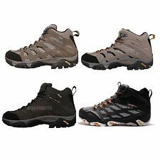 Merrell Moab Mid Gore-Tex GTX Mens Outdoors Shoes Hiking Adventure Boots Pick 1