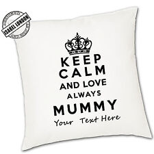 Personalised Mothers Day Cushion Cover.Personalise with your own text -ILVC1069