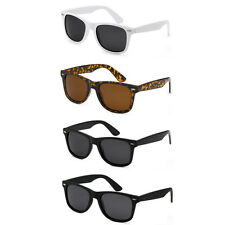 RETRO Polarized Unisex Anti Glare Wayfarer Vintage Shades UV Sunglasses 4 Styles