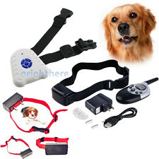 600/1000 Yard Dog Shock Training Collar with Remote Rechargeable Control Collar