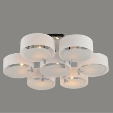 New Modern Glass Acrylic Chandelier Ceiling Pendant Lamp Lighting 3/5/7 Lights