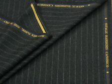VITALE BARBERIS, SUPER 120S WOOL FLANNEL SUITING FABRIC - MADE IN ITALY