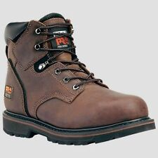 """Timberland Pro 6"""" Pit Boss Steel Safety Toe Gaucho Brown 33034, TB03303421,"""