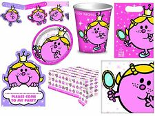 Little Miss Princess Party Girls Birthday Supplies Tableware Decorations Pink