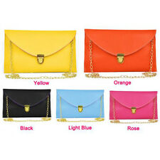 Women Lady Envelope Clutch Chain Purse Handbag Shoulder Messenger Bag Tote N3