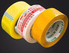 1X ROLL CLEAR PARCEL PACKING STRONG TAPE 110m x 4.4mm PACKAGING TAPE