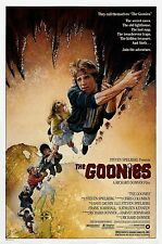 "THE GOONIES Silk Fabric Movie Poster New 24""x36"" 11""x17"""