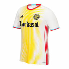 adidas Columbus Crew MLS 2016 Soccer Home Jersey White - Yellow - Red
