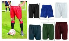 School Shorts Kids Boys Girls Football Short Sports Gym PE All Size Shadow strip